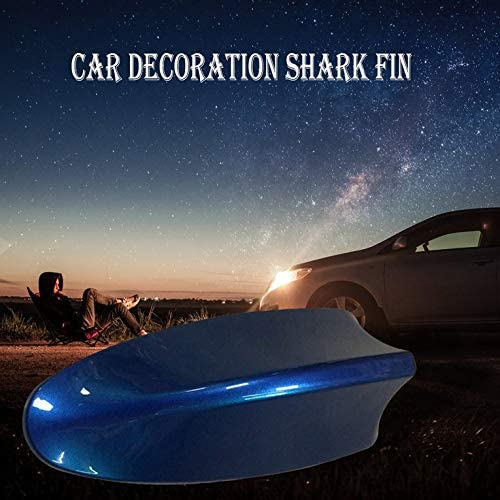 Car Decoration Shark Fin Special Antenna Car Roof Paste Tail Modification No Punching Shark Fin Antenna