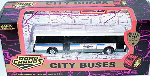 Road Champs CTA Chicago Transit Bus HO Scale Diecast