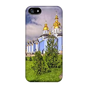 Fashion Protective St Michael Cathedral Ukraine Case Cover For Iphone 5/5s