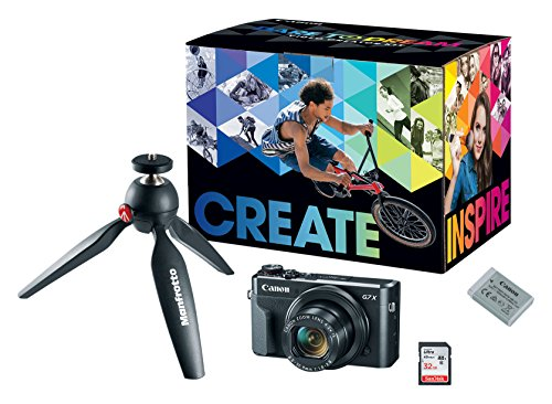 Canon PowerShot Video Creator Kit [G7 X Mark...