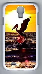 Samsung S4 Case Sea Stork PC Custom Samsung S4 Case Cover White