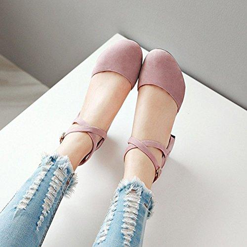 Sandalo Con Cinturino Alla Caviglia E Cinturino Alla Caviglia Con Cinturino Alla Caviglia E Punta Arrotondata
