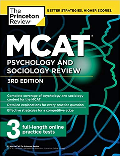 MCAT Psychology and Sociology Review, 3rd Edition: Complete