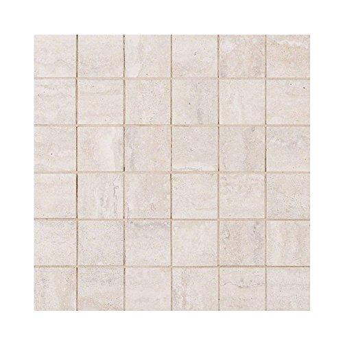 VENETO WHITE 2 in. X 2 in. 8 Pieces Per Box