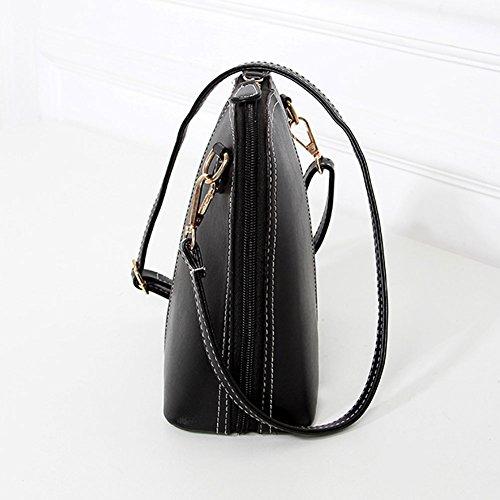 Noir Marée Avec Bandoulière Femmes Coquilles Fille Cabina Sac Paquet La Mini À D'épaule De Le w1xZaqp6v
