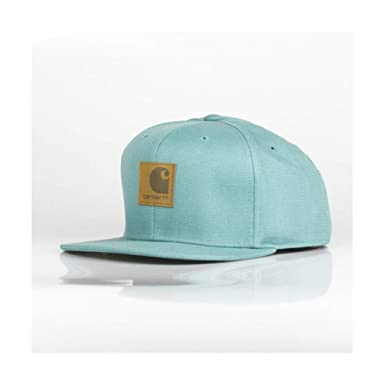 2cb4ddf72e0 Image Unavailable. Image not available for. Colour  Carhartt Logo Cap Soft  Teal
