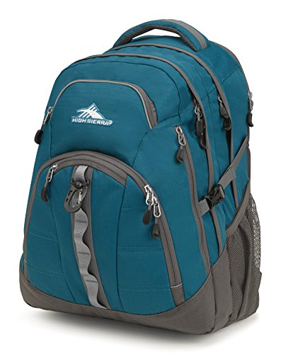 High Sierra Access II Laptop Backpack, Lagoon/Slate