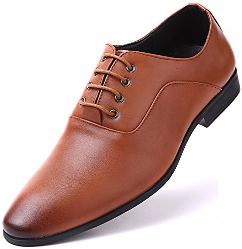 Dress Style Margin Oxfords, Tan - Oxford, 9 D(M) - Working Class Sunglasses