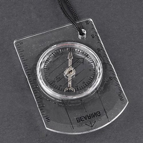 TOOGOO(R) Mini Compass Army Scouts Hiking Camping Outdoor Boating Map Reading Orienteering by TOOGOO(R) (Image #2)