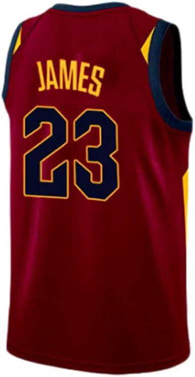 HANGESS Maillot de Basketball pour Hommes Lakers # 23 Lebron