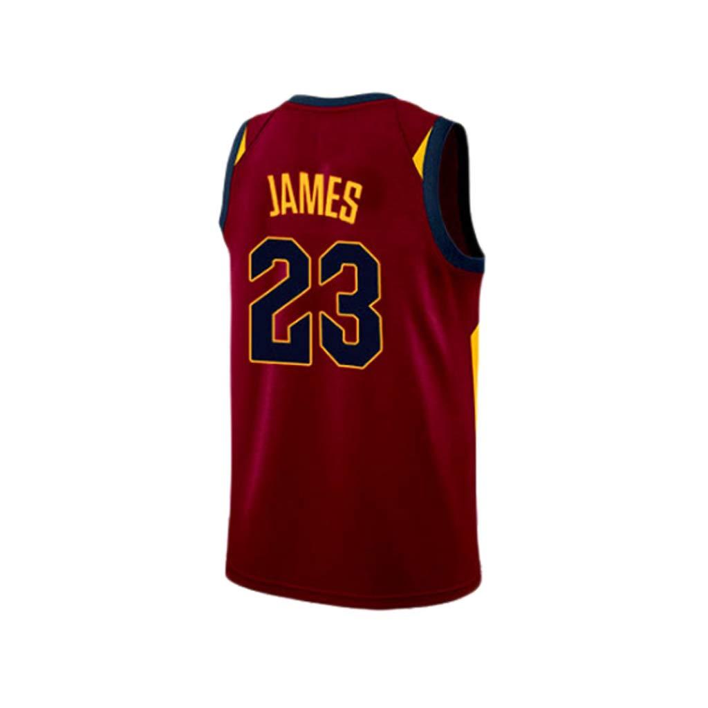 HANGESS Baloncesto Masculino Jersey Lakers # 23 Lebron James Mesh ...