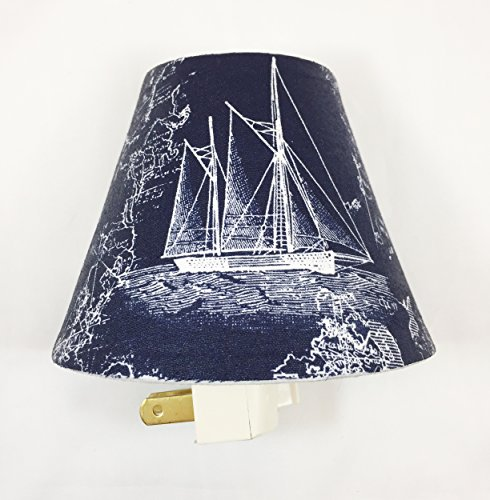 - Sailboat Plug In Night Light / Nursery Decor / Baby Shower Gift / Home Decor / Kid's Room / Lighting / Hallway Light / Housewarming / Nautical