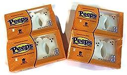 Halloween Peeps Marshmallow Ghosts (3 Ghosts per Package; Set of 4 Packs)
