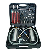 Fuel Injection System kit Cleaning Throttle Toolkit for Auto Fuel Injector and Cleaner Machine (Double Bottle)