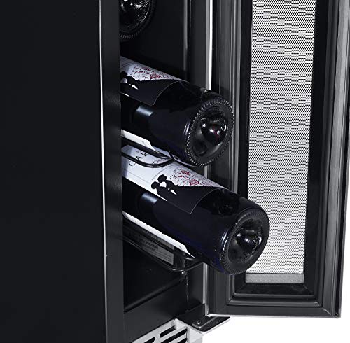 EdgeStar CWR70SZ 6-Inch 7 Bottle Built-In Wine Cooler