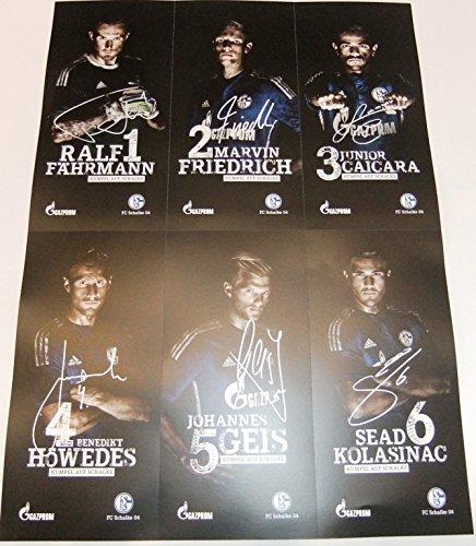 FC SCHALKE 04 Autogrammkarten 30 Stück