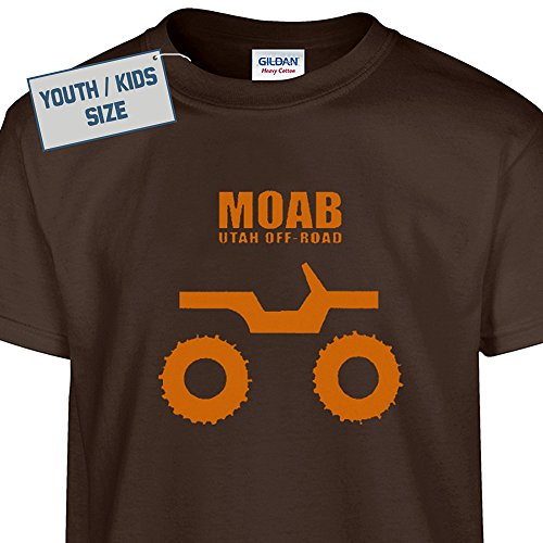 Off-Road Moab Utah Kid's Jeep T Shirt