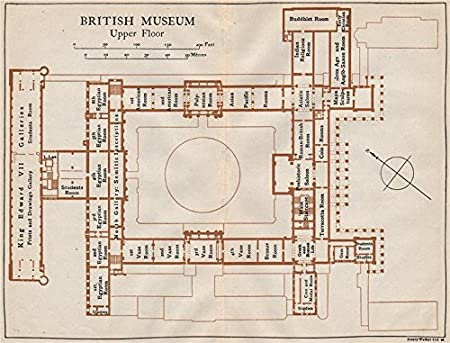 BRITISH MUSEUM. Upper floor vintage map plan. London - 1922 ... on buckingham palace location on map, st paul's cathedral map, american museum of natural history map, vatican museums map, field museum third floor map, english heritage map, national museum of natural history map, great britain map, art institute of chicago map, virginia museum of fine arts map, museum of modern art map, 14th century world map, piccadilly circus map, national gallery of art map, detroit institute of arts map, smithsonian institution map, oxford street map, valley of the kings map, field museum chicago map, philadelphia museum of art map,