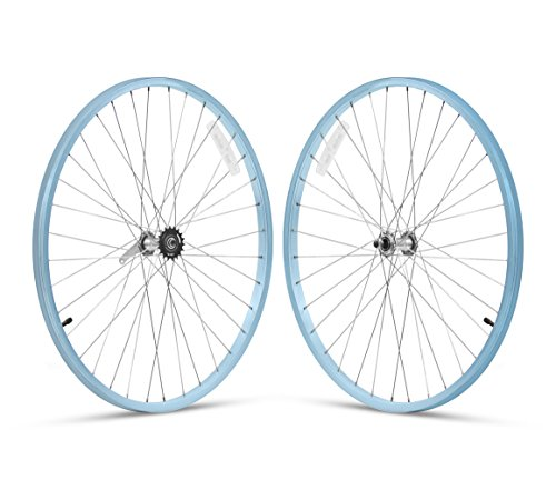 Firmstrong 1-Speed Beach Cruiser Bicycle Wheelset, Front/Rea