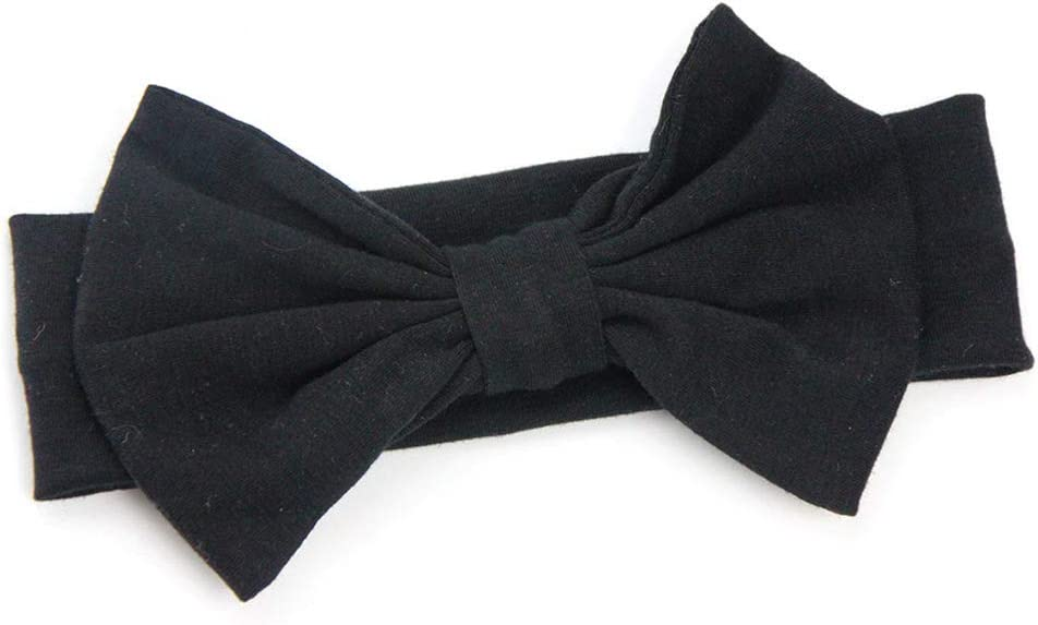 Lurrose 8pcs fasce per capelli capelli archi fasce elastiche per capelli avvolge la testa per i neonati