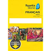 Learn French: Rosetta Stone - France Levels 1-5 [PC Key Card Download]