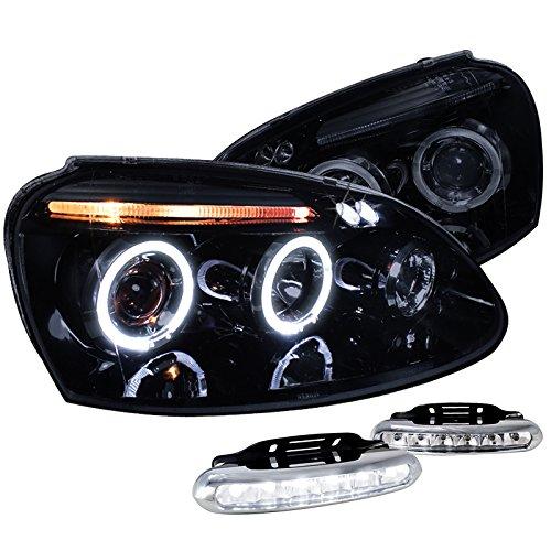 Glossy Jetta Projector Headlights Bumper