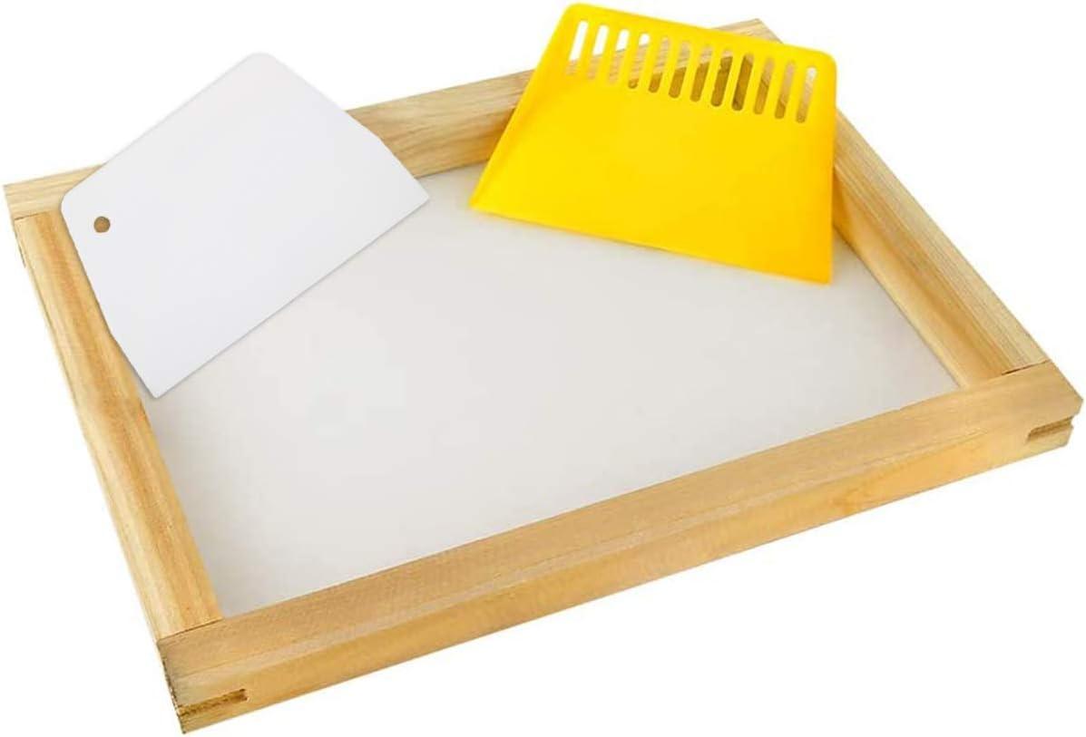 Siebdruck-Rakel Siebdruck-Rakel F/üR Siebdruck 5er-Set Siebdruck-Tinte Myukbest Siebdruck Starter Set