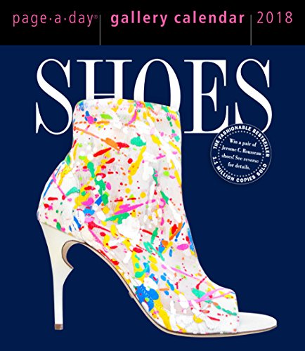 Shoes Page-A-Day Gallery Calendar 2018 PDF