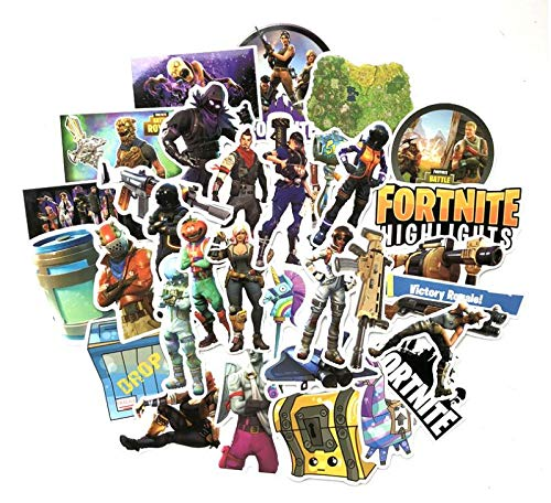 40 pcs Compatible Fortnite Stickers for Fortnite Gamers Fortnite Birthday Party Favors Supplies Fortnite Decoration Gift Compatible Fortnite Llama Stickers for Fortnite Gamers Kid and Adult by A-HA