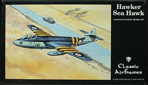 Used, Classic Airframes 1:48 Hawker Sea Hawk Plastic Aircraft for sale  Delivered anywhere in USA