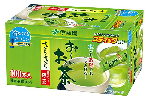 Ito En Oi Ocha Japanese Green Tea, Macha blend, pack of 100 [Japan Import] (Itoen Tea)