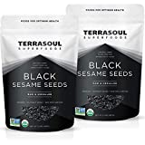 Terrasoul Superfoods Organic Black Sesame Seeds, 4 Lbs (2 Pack) - Raw | Unhulled | Lab-Tested...