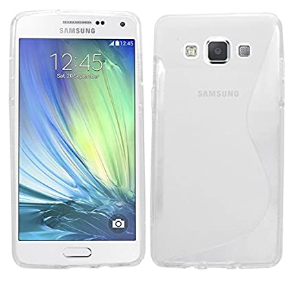 SAMRICK Hydro S Wave - Carcasa protectora para Samsung Galaxy A5 (2015), transparente claro