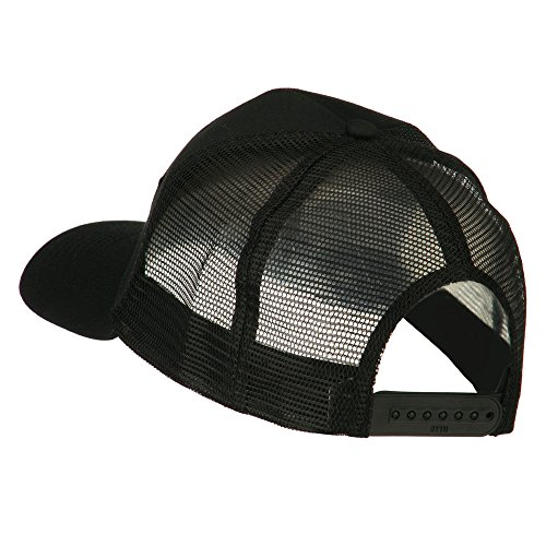Vietnam Veteran Military Patched Mesh Back Cap – Black OSFM