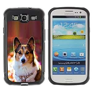 Suave TPU GEL Carcasa Funda Silicona Blando Estuche Caso de protección (para) Samsung Galaxy S3 III I9300 / CECELL Phone case / / Corgi Rembroke Welsh Cardigan Dog /