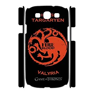 WINTER IS COMING Exquisite stylish phone protection shell Samsung Galaxy S3 I9300 (3D) Cell phone case for Game of Thrones pattern personality design