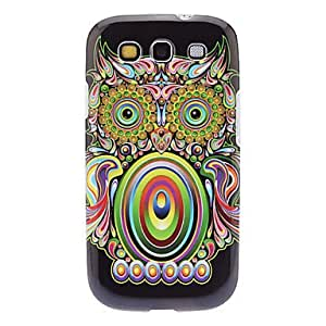 DUR Special Owl Pattern TPU Soft Case for Samsung Galaxy S3 I9300