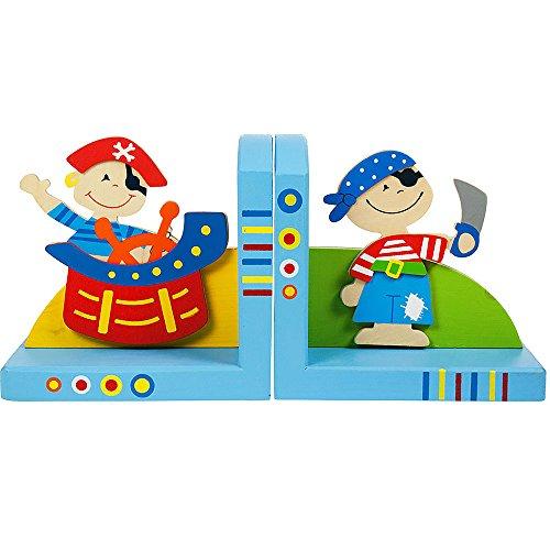 Bigjigs Toys Buchstützen (Piraten)