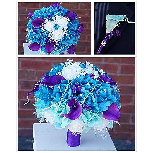 Purple and Turquoise Wedding: Amazon.com