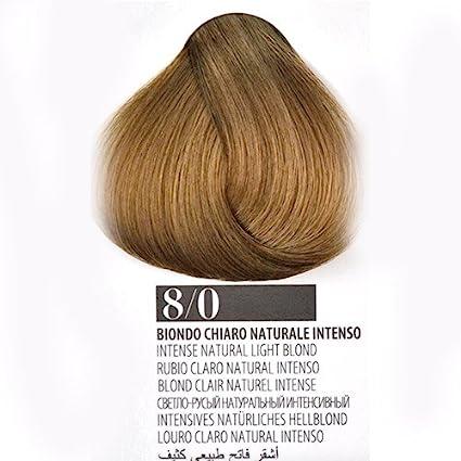 Tinte Cabello 8/0 Rubio Claro Natural Intenso farmagan Hair ...