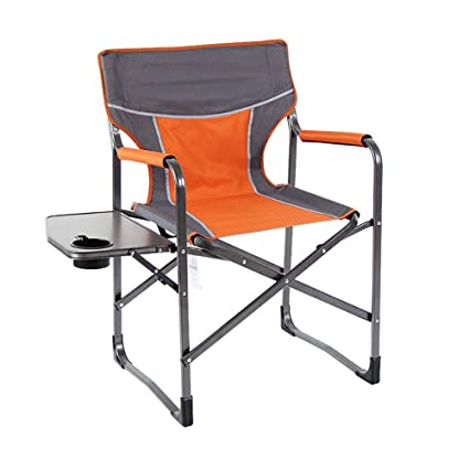 Silla de director plegable, silla de respaldo acolchado ...