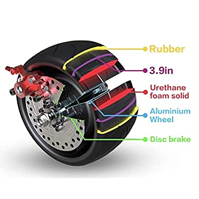 Mercane WideWheel Electric Scooter Replaceable Tires (1 WideWheel Replaceable Tire) : Sports & Outdoors