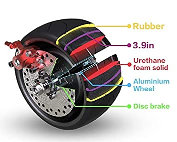 Amazon.com: Mercane WideWheel - Patinete eléctrico con ...