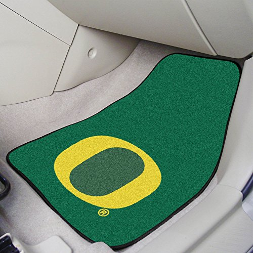 (FANMATS NCAA University of Oregon Ducks Nylon Face Carpet Car Mat)