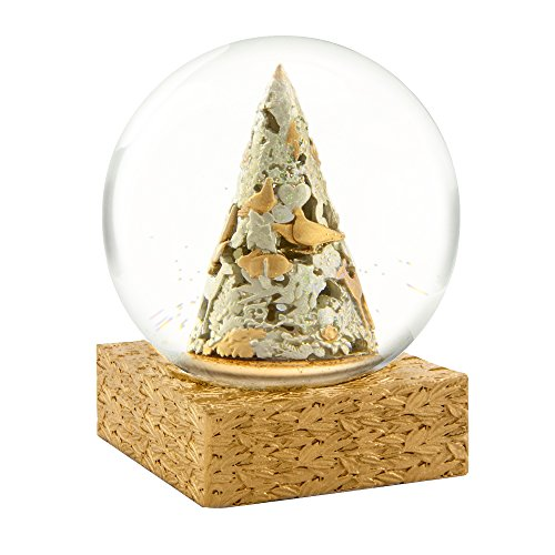 CoolSnowGlobes Baroque Christmas Tree Snow Globe by CoolSnowGlobes