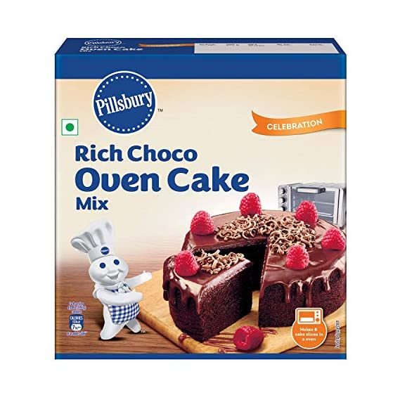 Pillsbury Oven Cake Mix, Rich Choco, 285 gm