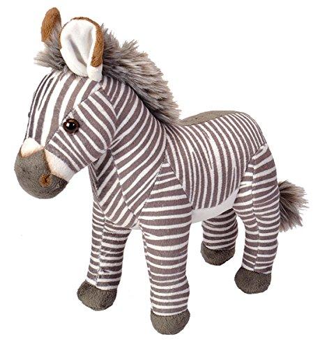 Bio Animal - Wild Republic Grãvy's 'S Zebra Stuffed Animal Plush Toy Bio-Diversity, 10