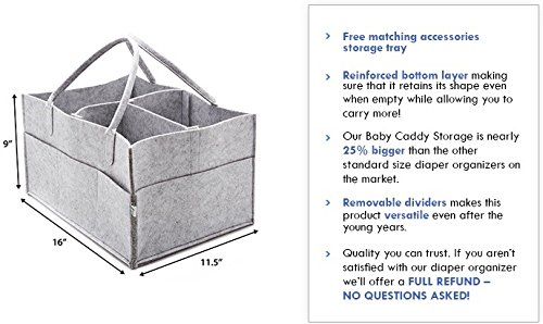Amazon Little Tinkers World Baby Diaper Caddy Extra Large
