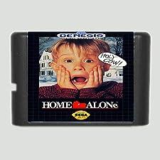 16 Bit Sega MD Game - Home Alone 16 bit MD Game Card For 16 bit Sega MegaDrive Genesis game console - Sega Genniess , Sega Ninento , Sega Mega Drive