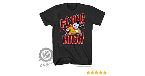 19d3178a3f8 Amazon.com   Mighty Mouse Flying High Charcoal Heather Licensed T-Shirt  S-2XL (AJSHEARS)   Sports   Outdoors